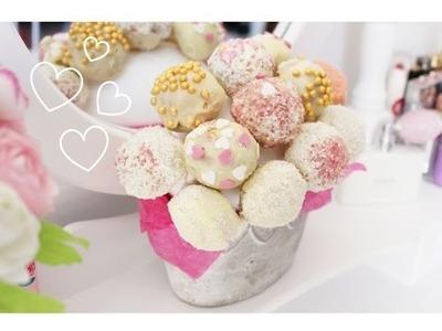 DIY Fête des Mères: Bouquet de Cake Pops (Mini Prix & Facile)