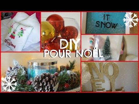 DIY pour Noël ❄ Décorations faciles & peu coûteuses!