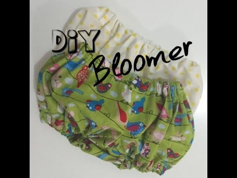 DIY : Réalisation d'un bloomer bébé