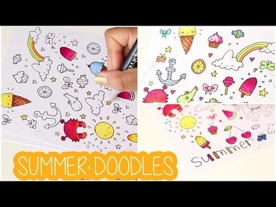 DIY # TUTO Comment réaliser des doodlings ? - Summer doodles