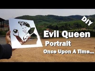 Lana Parrilla,  Portrait of the Evil Queen  DIY