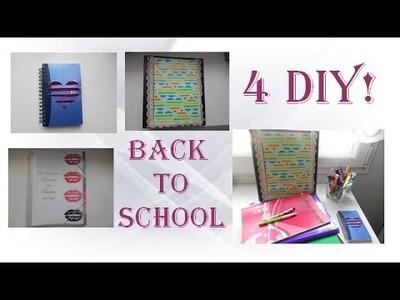 4 Back to school DIY! - 4 DIY pour la rentrée 2015