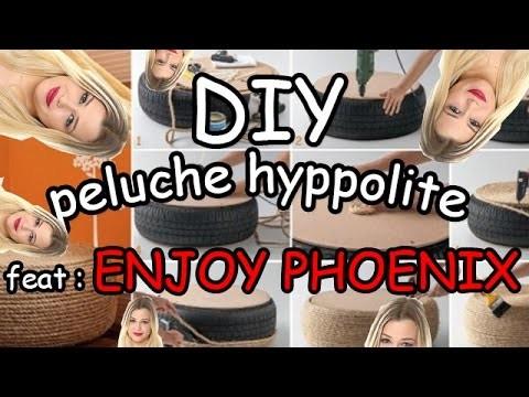 DIY : Peluche Hyppolite (enjoy phoenix)