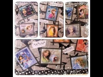 ♡ DIY déco: Mon pêle Mêle Disney en collaboration avec Naloma !! ♡ ☼ Cendre Arts☼