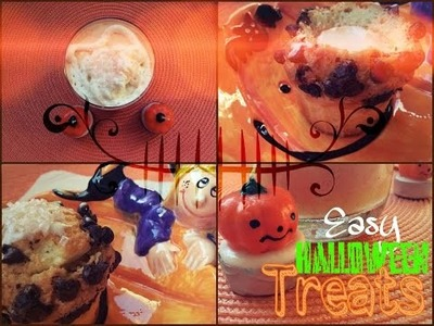 DIY Easy Halloween Treats! ♡
