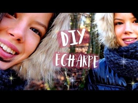 DIY   Écharpe en Laine  - Claire