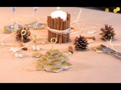 DIY Noël : Étoiles en pâte à sel