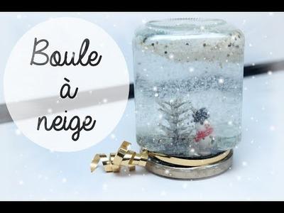 ❄ NOEL : D.I.Y Boule à neige (Idée déco.cadeau) ❄