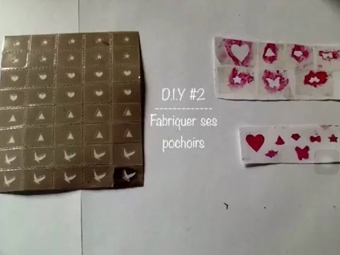 D.I.Y #2 : Fabriquer ses Pochoirs