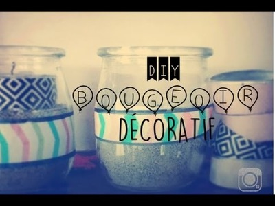 DIY BOUGEOIR DÉCORATIF - Sweety