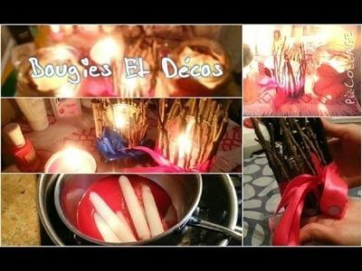 DIY ❀ Bougies Et Décoration !