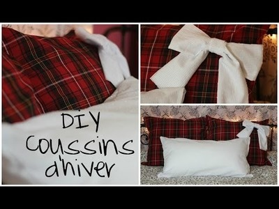 DIY Coussins d'hiver | FASHIONNISTAAA