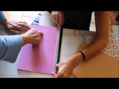 DIY - Décoration cahier scolaire