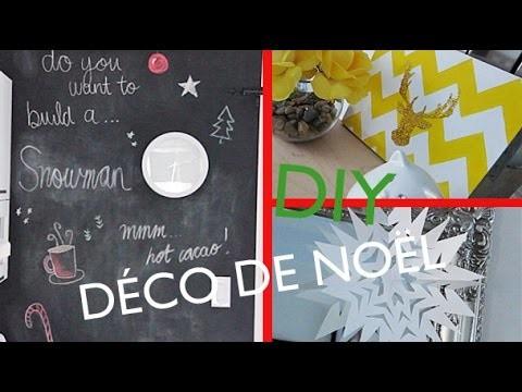 DIY : Décos de Noël | FACILE & RAPIDE ! ♡