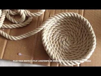 DIY Des paniers super facile à faire soi même