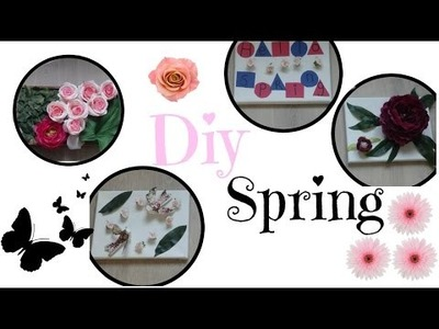 * DIY n°4 * : Décoration pour votre salon ( Spring )