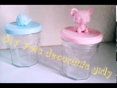 DIY Pots décoratifs girly- Sweety