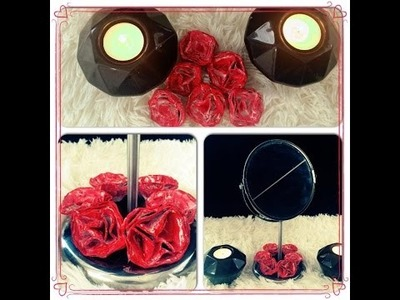 ♡ DIY roses  ♡  ☼ Déco en recyclant vos boîtes d'oeufs ☼