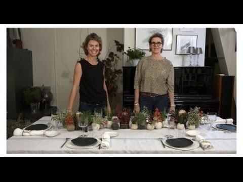 DIY : Un joli chemin de table pour Noël