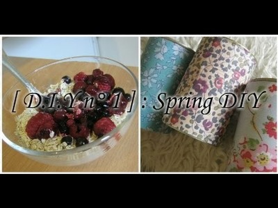 [ D.I.Y n° 3 ] : 2 Spring DIY ♥