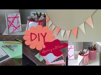 DIY#1 : Décore ta chambre, édition printemps !!