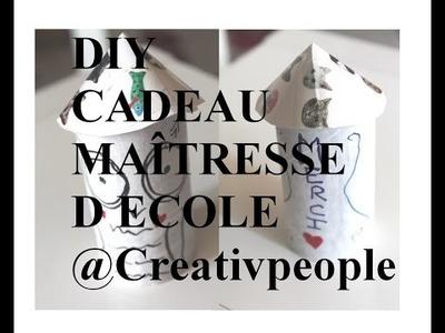 DIY CADEAU MAÎTRESSE D'ECOLE Creativpeople