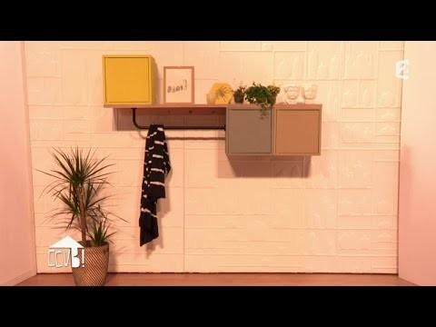 [DIY] Fabriquer une étagère d'entrée design