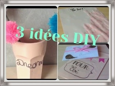 { DIY n°1 } 3 idées - Stay As You Are