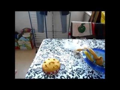 DIY : Peinture 3D, Pâte à modeler, Idée pot à gateaux à faire sois même