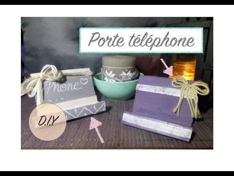 DIY - Porte téléphone