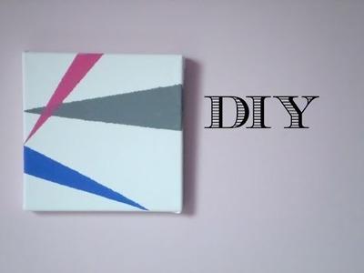 DIY: Tableau géométrique