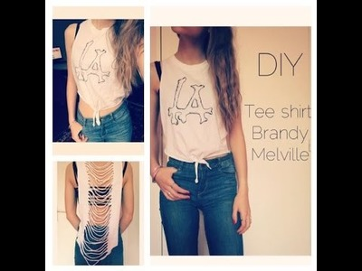 [DIY] ♦ Tee shirt imitation Brandy Melville ♦
