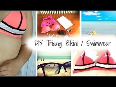 [ DIY ] Triangl Bikini. Swimwear