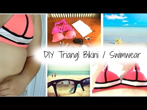 [ DIY ] Triangl Bikini. Swimwear