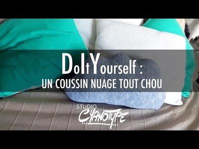 Tuto DIY : Un coussin nuage tout chou DIY | Studio Cyanotype