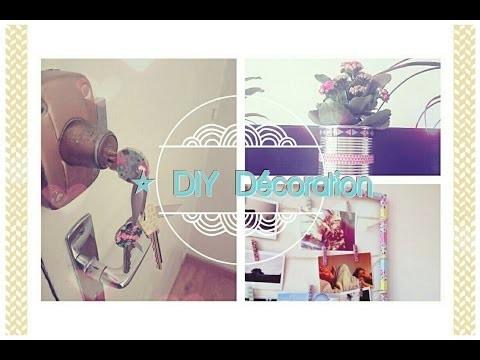 ♡ 3 DIY | Décoration | Mignon & à petit prix | Inspiration Pinterest