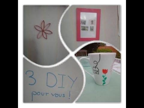 3 DIY pour vous!!!