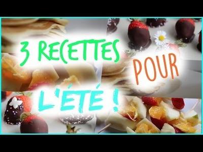 [DIY] - 3 Recipes for Summer !. 3 Recettes pour l'Été ! ☀️
