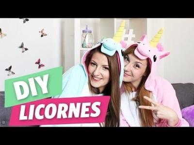 ✿ DIY - Meringues de licornes avec Emma et Aline ✿