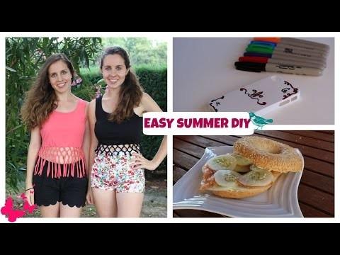 Easy summer DIY ✿ (ft Iris Fibia)