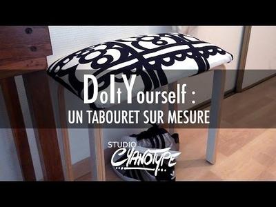 Tuto DIY : Un tabouret sur mesure  | Studio Cyanotype
