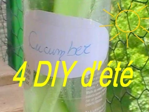 4 DIY d'été facile & rapide - Summer DIY
