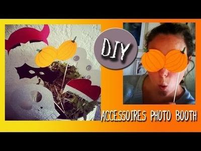 DIY : Accessoires pour photobooth (photomaton) d'Halloween, décoration