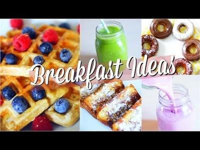DIY BACK TO SCHOOL | Idées petit déjeuner & snacks RAPIDE !