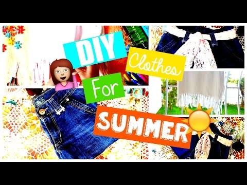 DIY Clothes For Summer ☼ ♡  EnjoyCreation