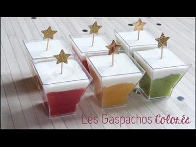 DIY Cuisine ♡ Les Gaspachos Colorés
