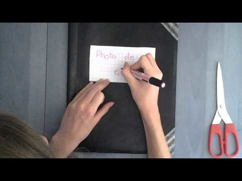 DIY customiser un porte vue
