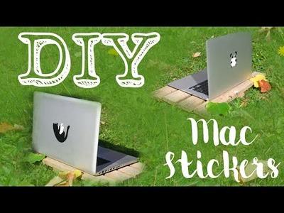 {DIY} - Mac Stickers