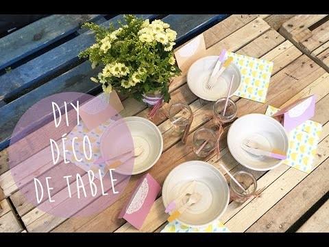 DIY pour décorer votre table d'été (pique-nique, party)