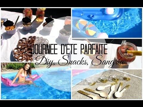 ♡ Journée d'été parfaite | Diy, Snacks & Sangria ♡